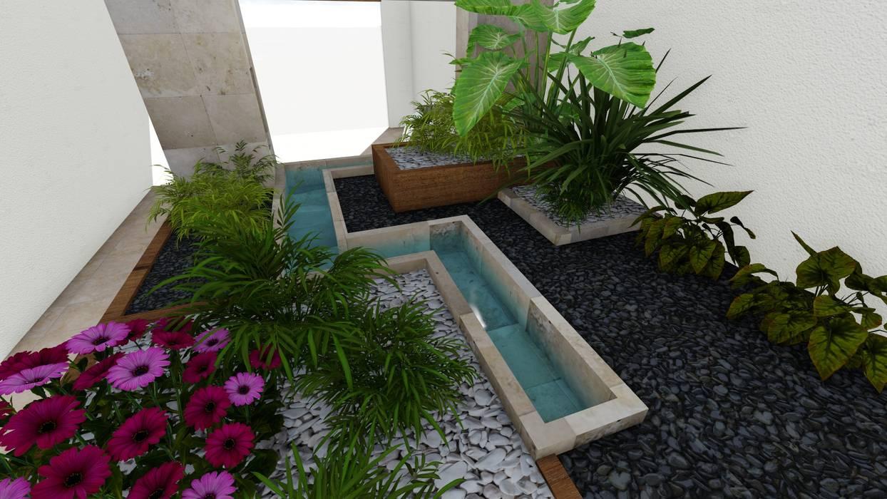 Giardino in stile  di A-labastrum   arquitectos