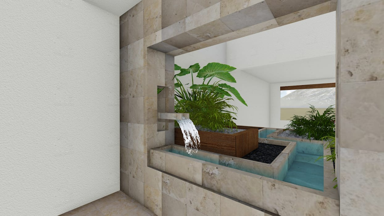 Minimalist style garden by A-labastrum arquitectos Minimalist