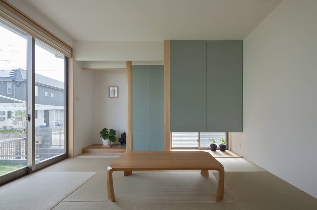 川面の家: 田村の小さな設計事務所が手掛けた和室です。