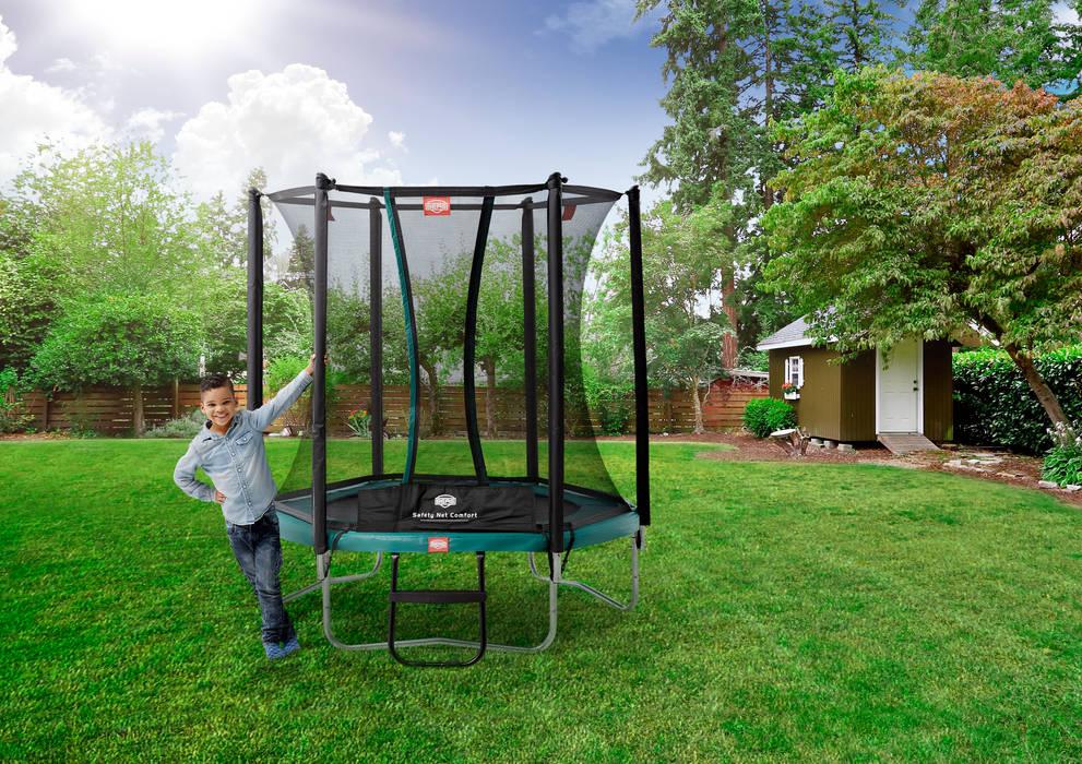 BERG Talent 180/240/300 + Safety Net Comfort BERG Toys B.V. Country style garden Plastic Green