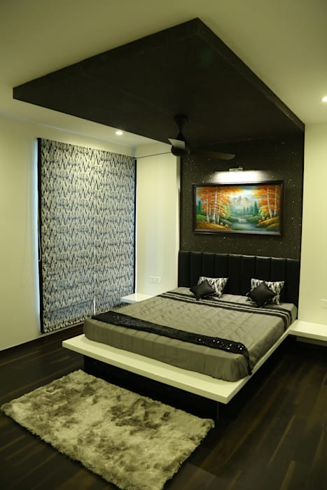 Guest Bedroom Modern style bedroom by Studio Stimulus Modern