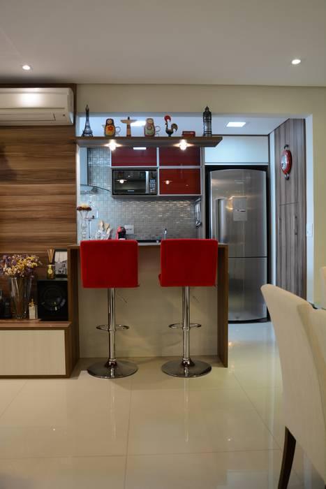 Salas de jantar  por Expace - espaços e experiências, Moderno
