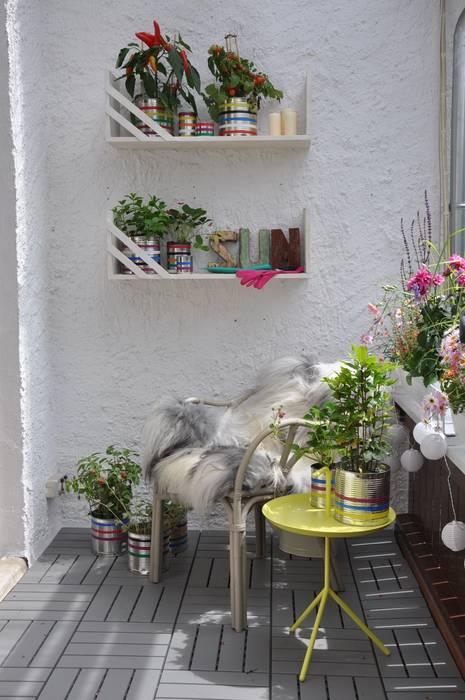 Balcones y terrazas de estilo moderno de DIE BALKONGESTALTER Moderno