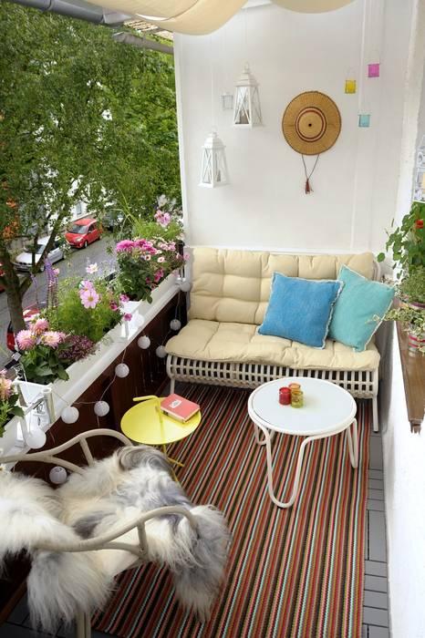 Balcon, Veranda & Terrasse modernes par DIE BALKONGESTALTER Moderne