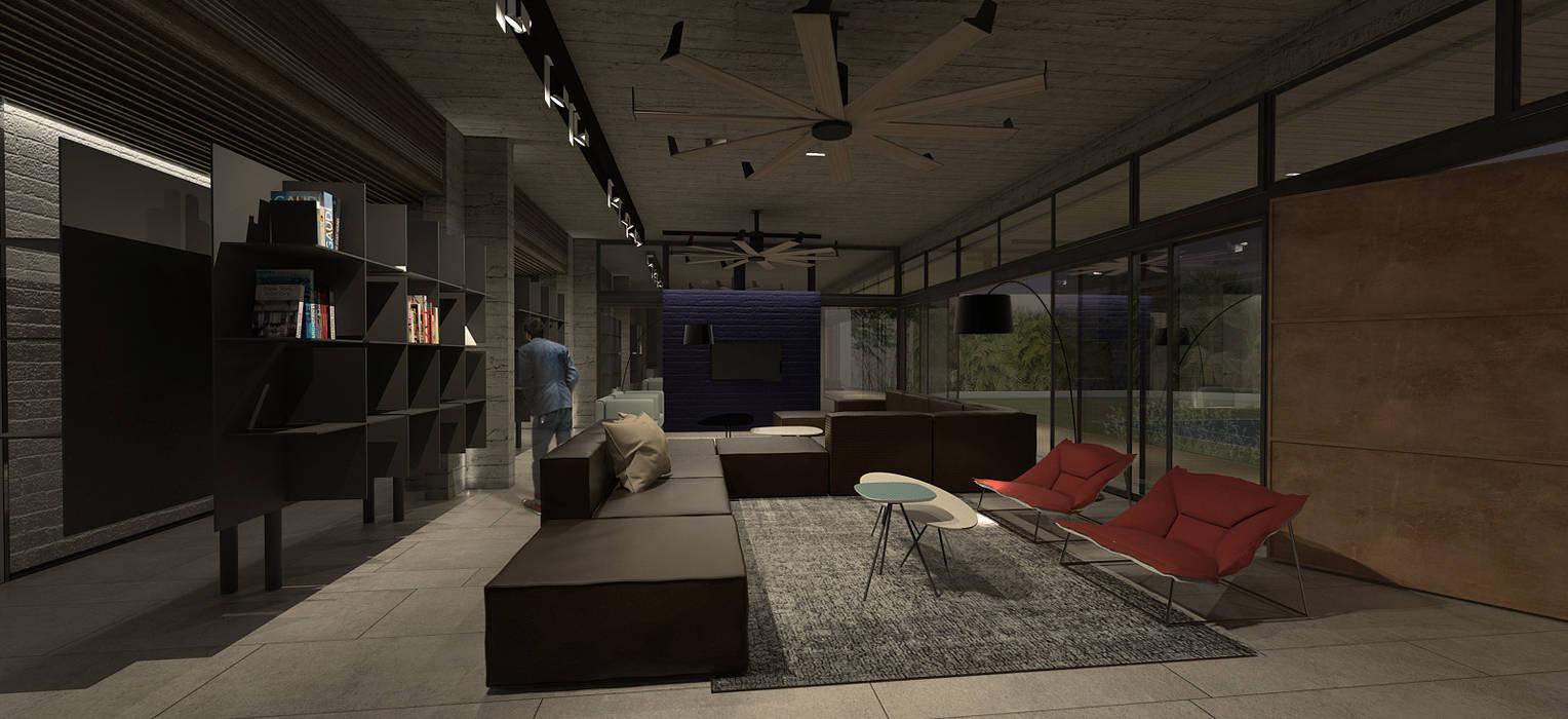 CASA G: Casas de estilo  por MAT Latinamerica , Moderno