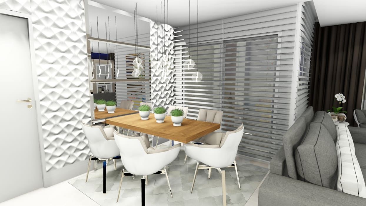 Dining room by Studio², Modern