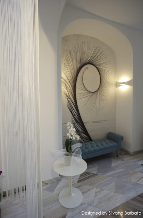 Ingresso: Spa in stile in stile Classico di Silvana Barbato, StudioAtelier