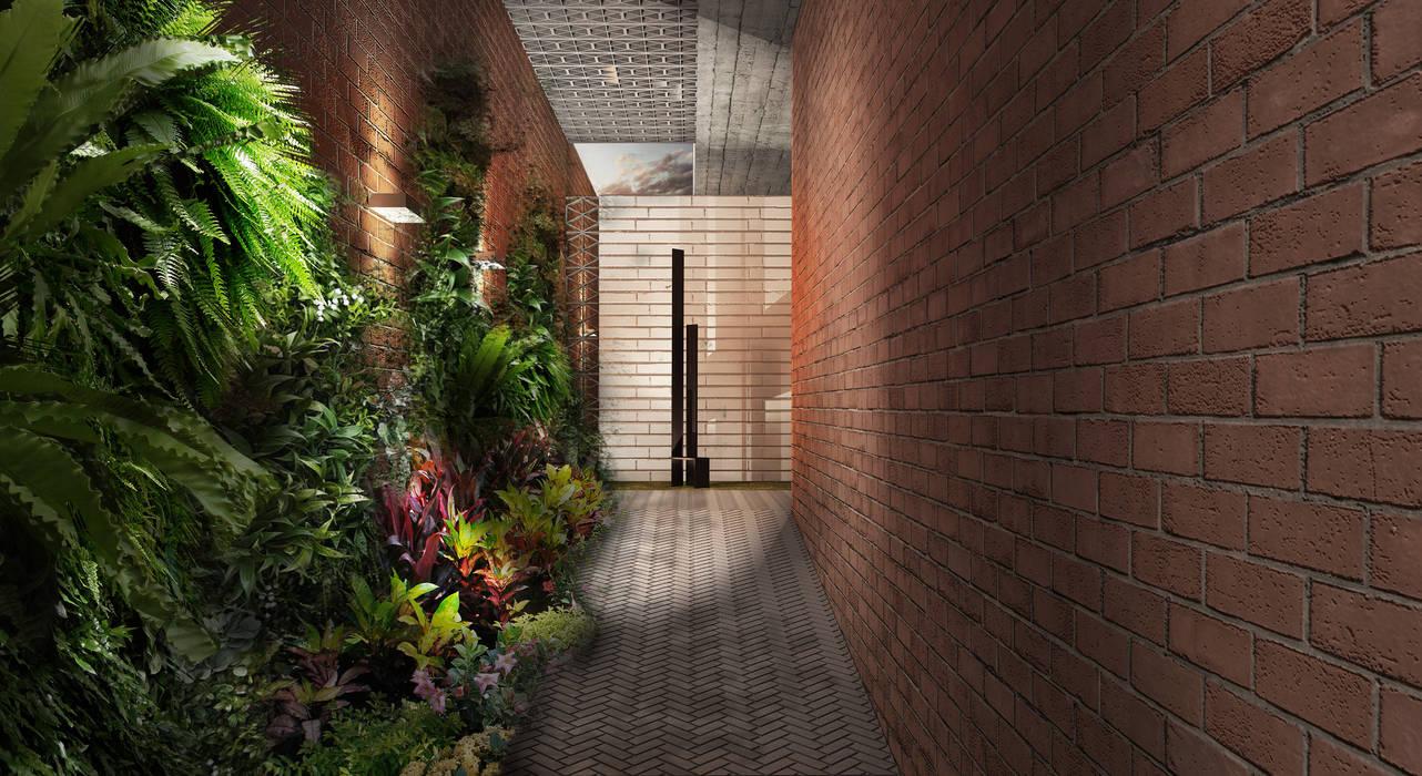 Couloir et hall d'entrée de style  par MAT Latinamerica , Moderne