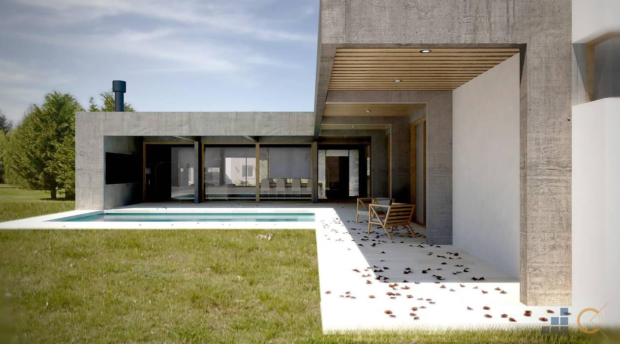 Moderne Häuser von Carma Arquitectura Modern