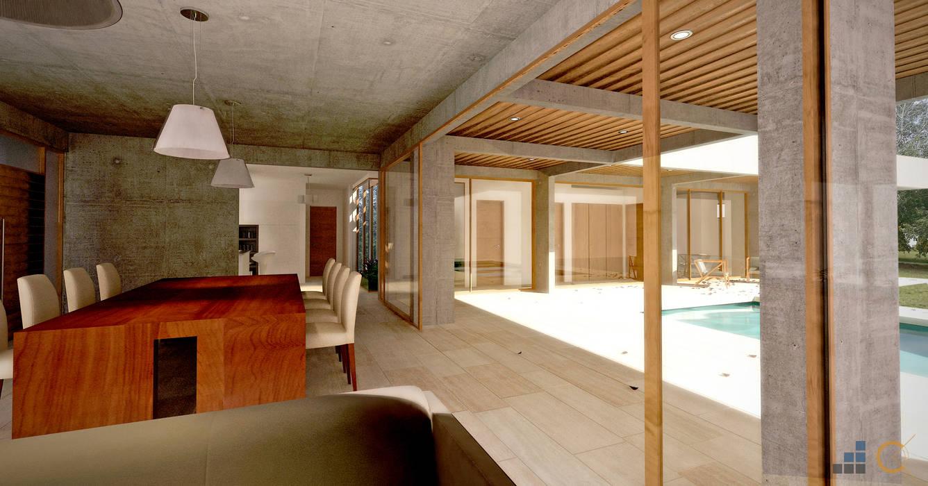 Moderne Wohnzimmer von Carma Arquitectura Modern