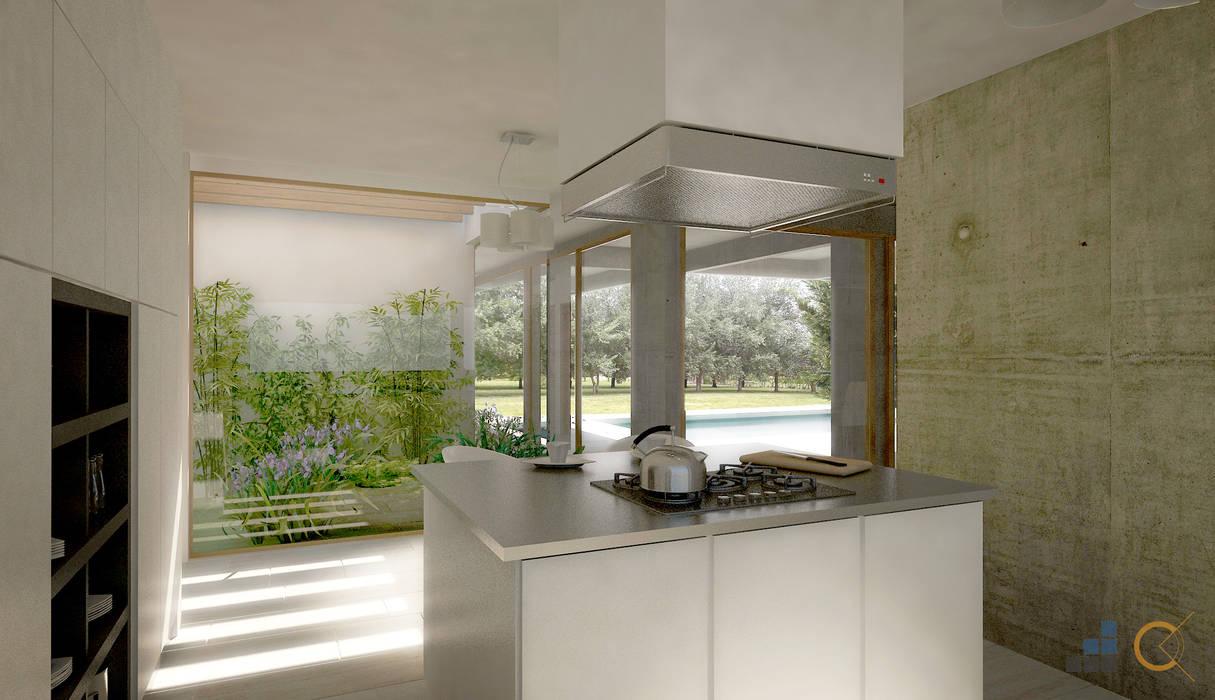 Moderne Küchen von Carma Arquitectura Modern
