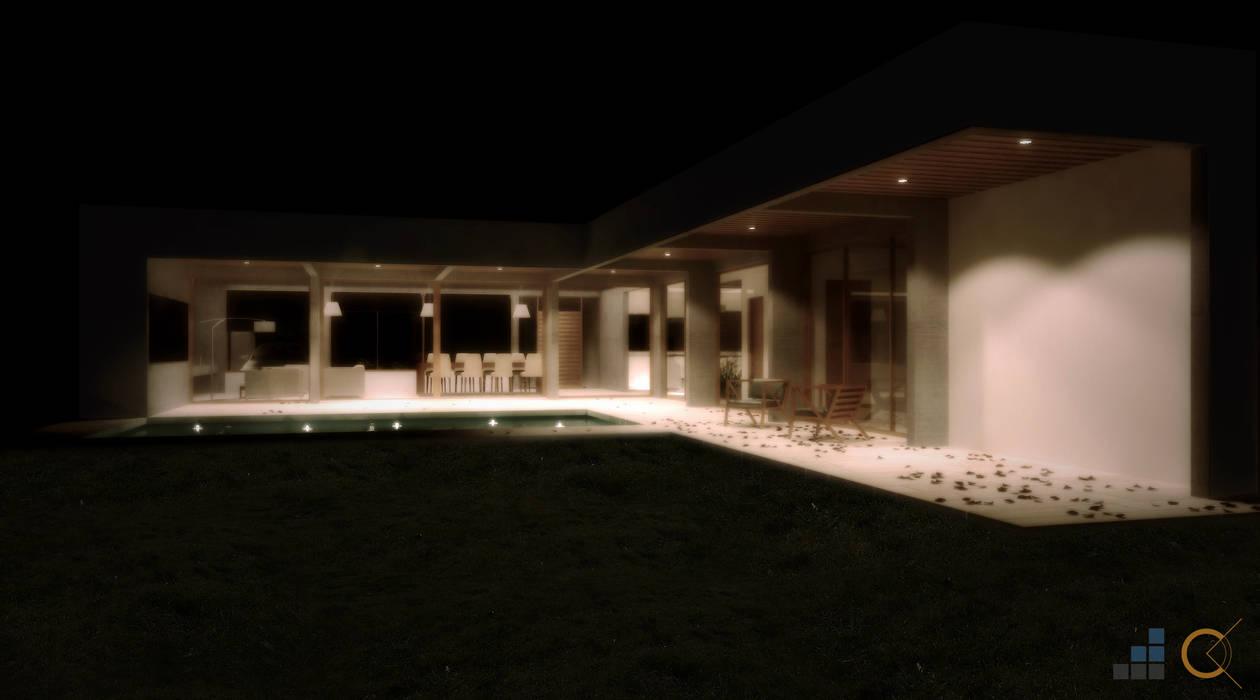 Maisons de style  par Carma Arquitectura