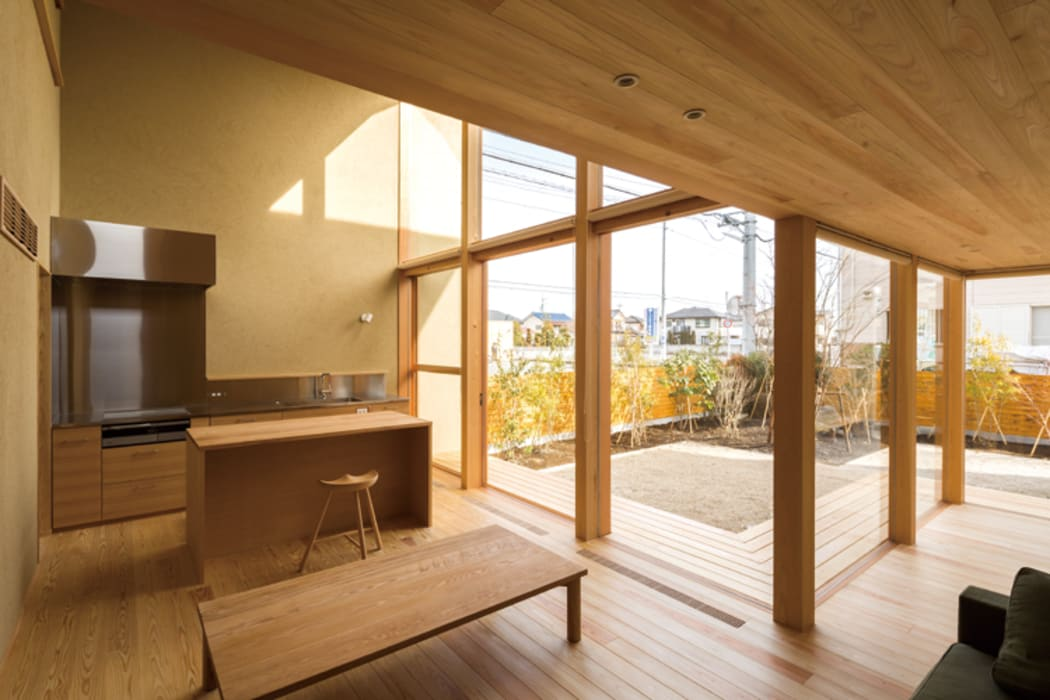 中山大輔建築設計事務所/Nakayama Architects Living room