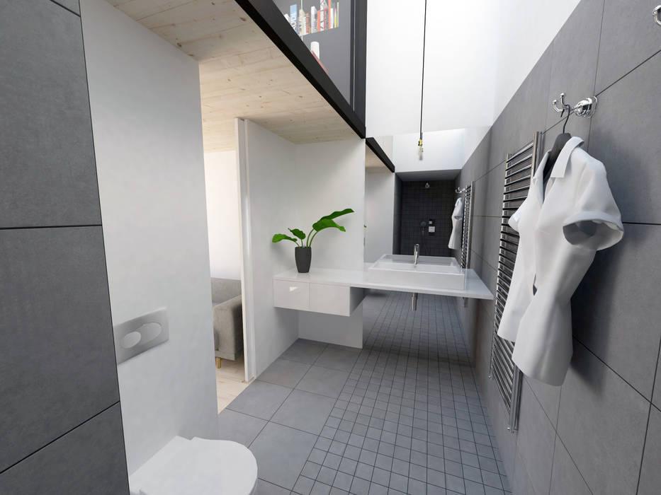 Extensions pour des chambres d'hôtes: Salle de bains de style  par La Fable