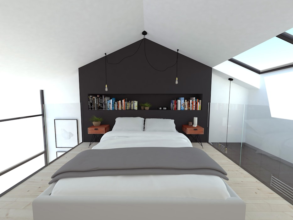Extensions pour des chambres d'hôtes: Chambre de style  par La Fable
