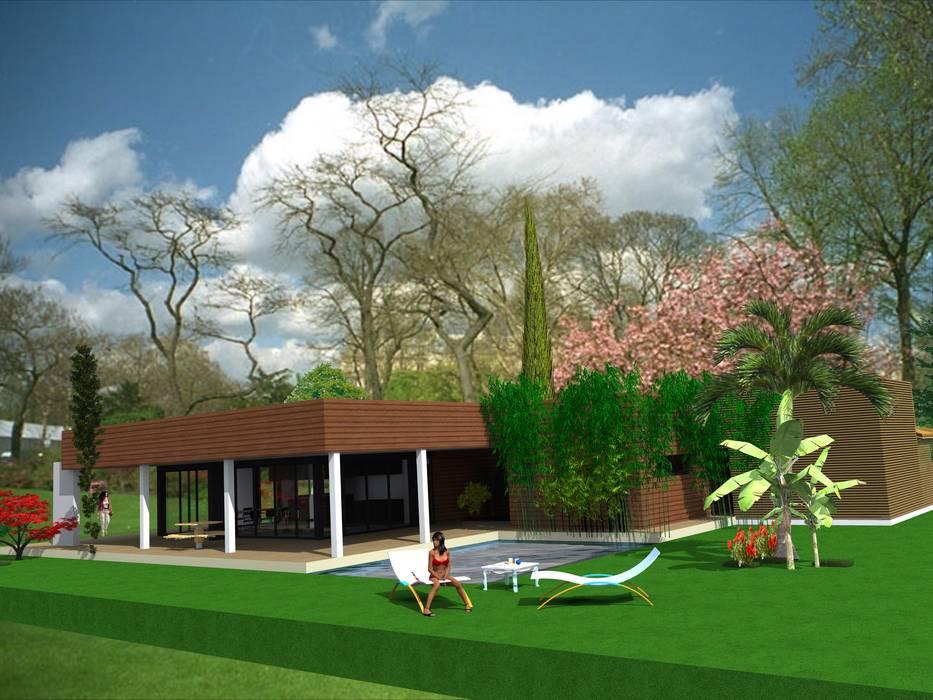 maison Charme géant: Maisons de style de style Moderne par Ab consultant
