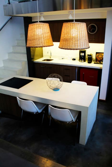 Estudios y despachos de estilo moderno de DX ARQ - DisegnoX Arquitectos Moderno