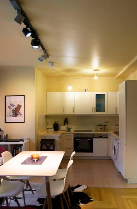 Decoración interior de vivienda en Berlín Comedores modernos de garcia navalon arquitecto Moderno