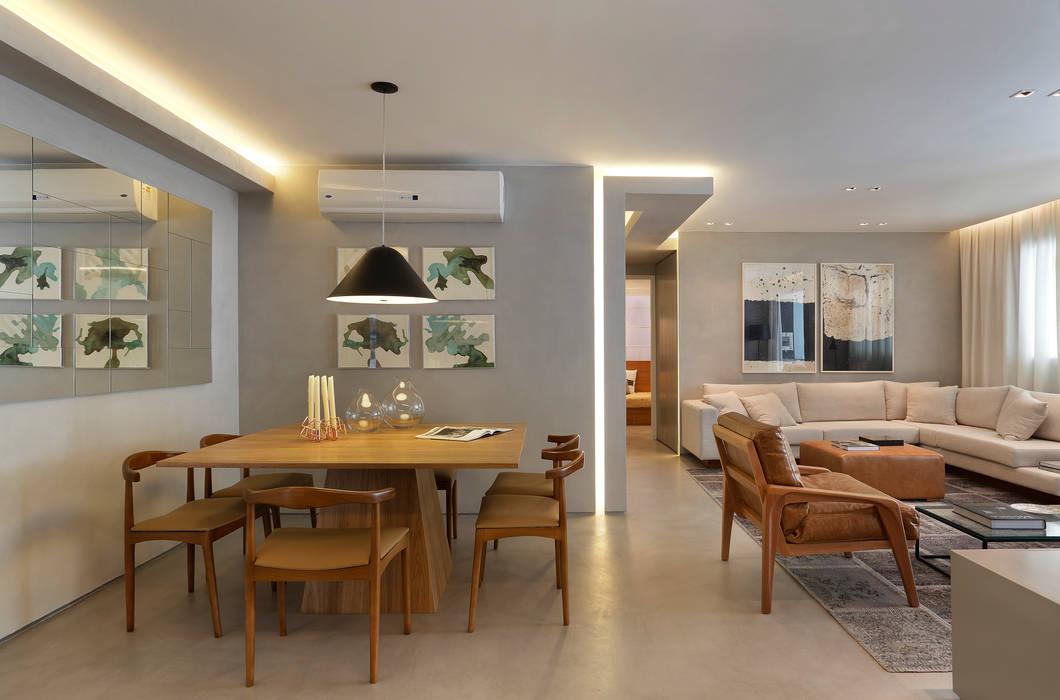 Apartamento decorado calper comedores modernos de gisele ...