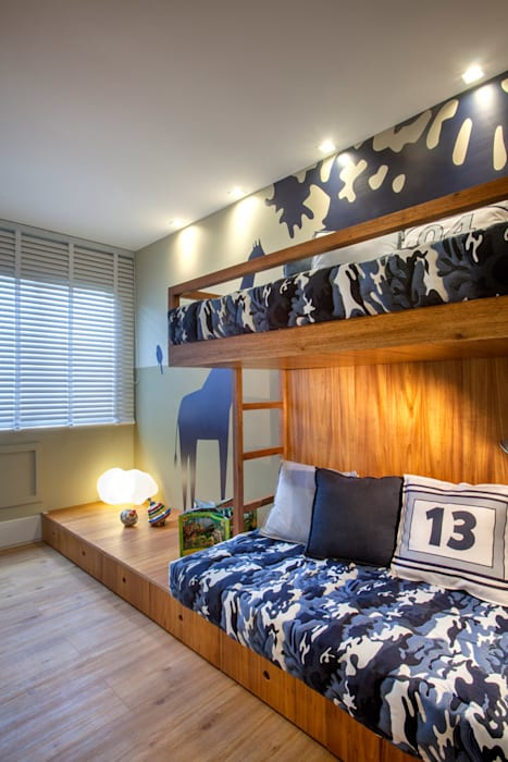 Apartamento decorado RJZ - by Gisele Taranto Arquitetura Modern