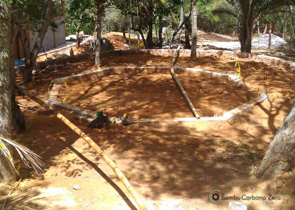 Jardines de estilo rústico de BAMBU CARBONO ZERO Rústico Bambú Verde
