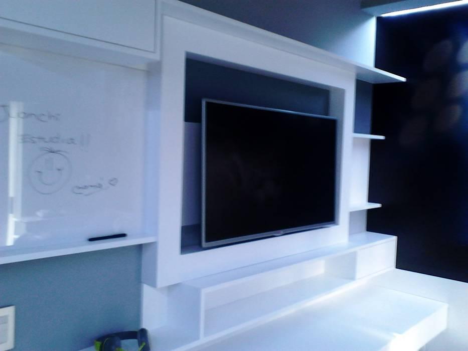 DORMITORIO JUVENIL Dormitorios minimalistas de EVA DECO--- @evadeco_reniero Minimalista