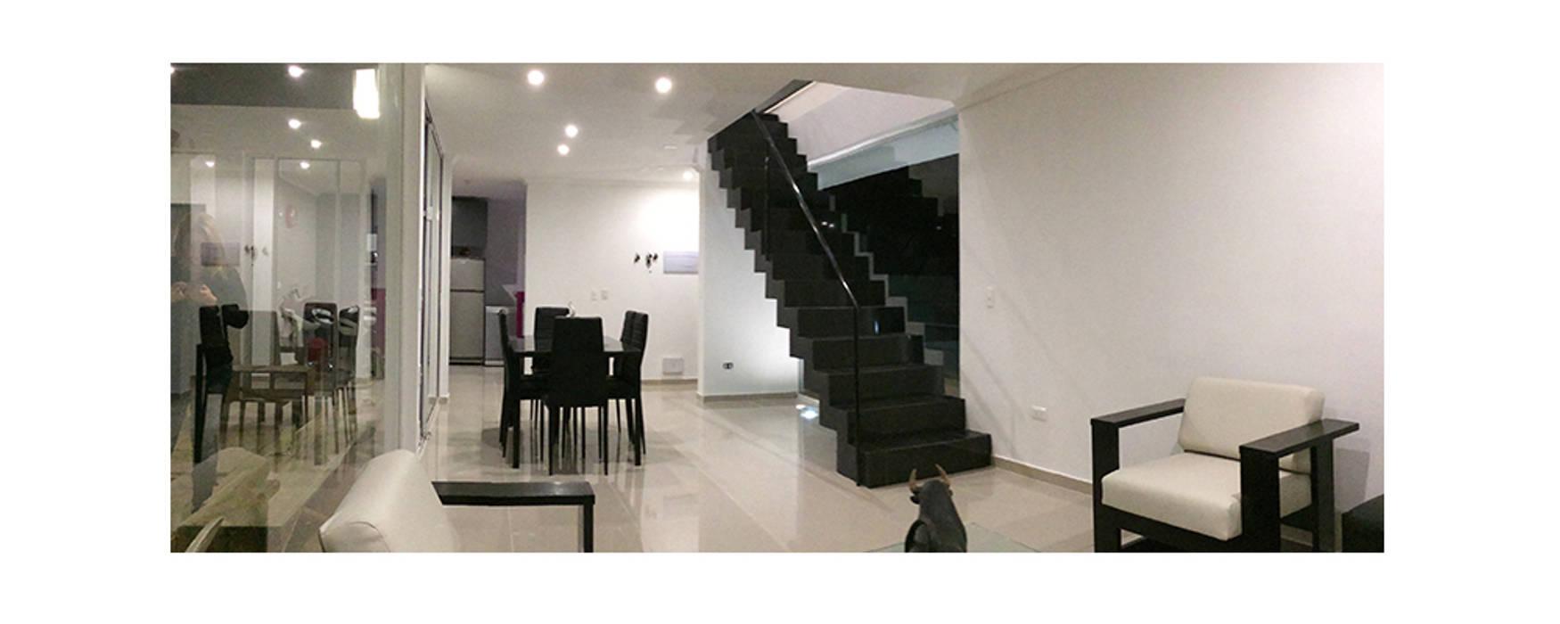 Modern living room by Herman Araya Arquitecto y constructor Modern