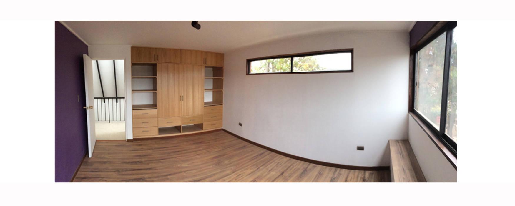 Casa Neff Herman Araya Arquitecto y constructor Dormitorios de estilo moderno