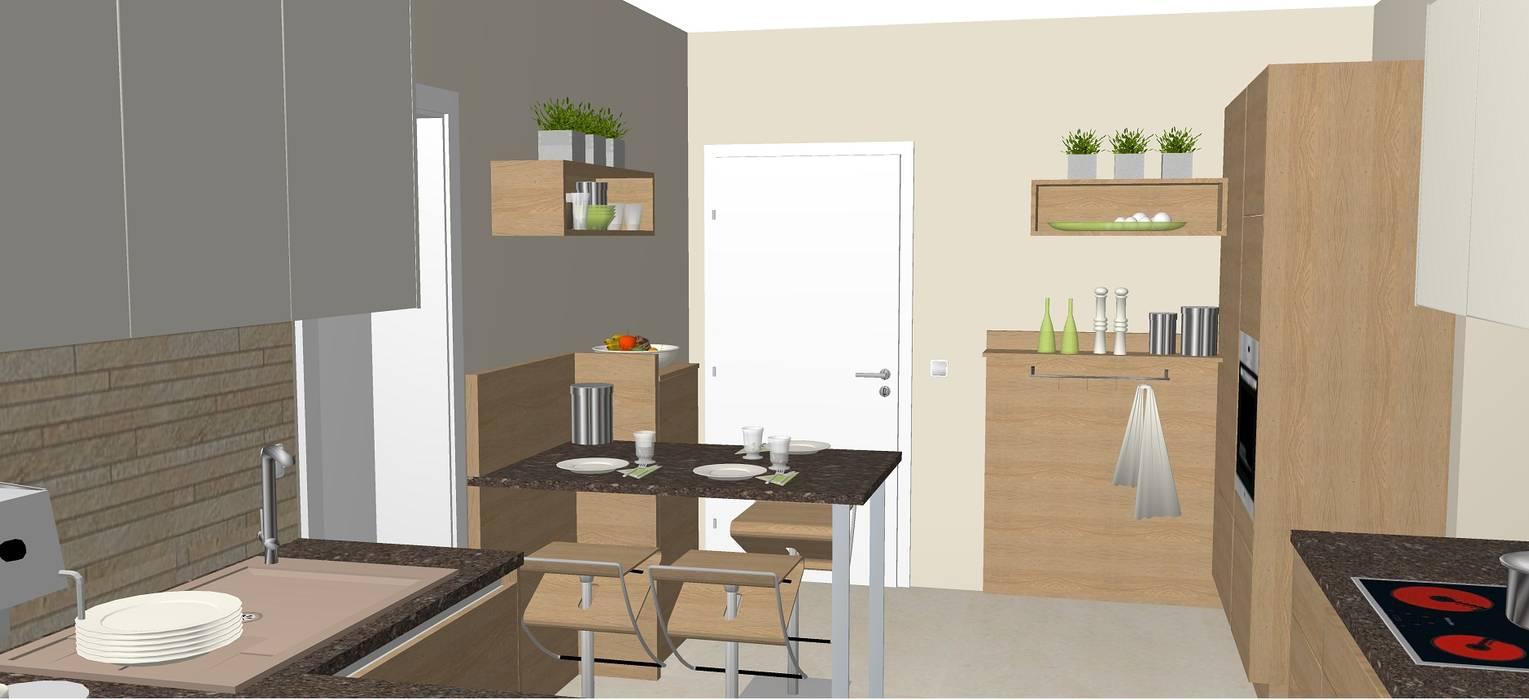 Küche mit essplatz klassische küchen von möbel rieder ...