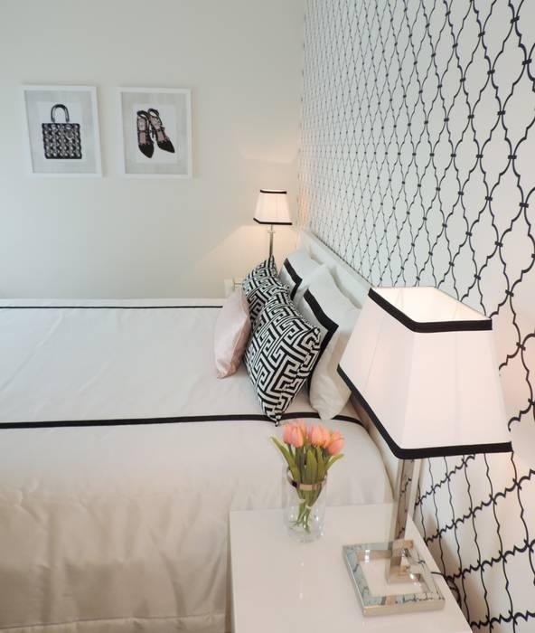 Black&White - Room Quartos modernos por Espaços Únicos - EU InteriorDecor Moderno