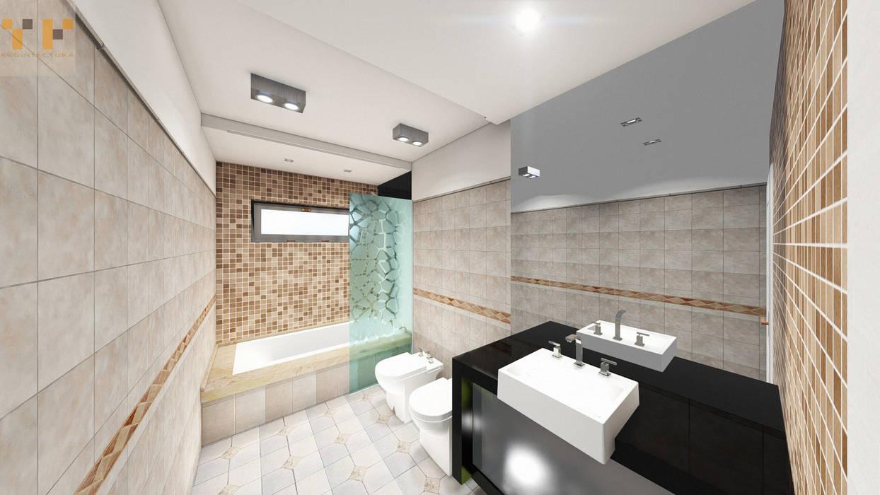 Remodelacion Baño : Baños de estilo  por T.F | ARQuitectura y DIseño
