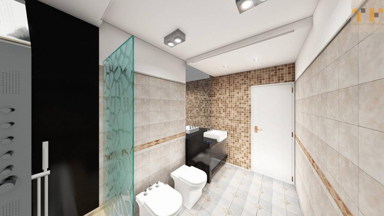 Remodelacion Baño Baños modernos de T.F   ARQuitectura y DIseño Moderno