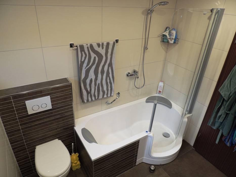 Dusche, badewanne – oder beides?: badezimmer von bad campioni | homify