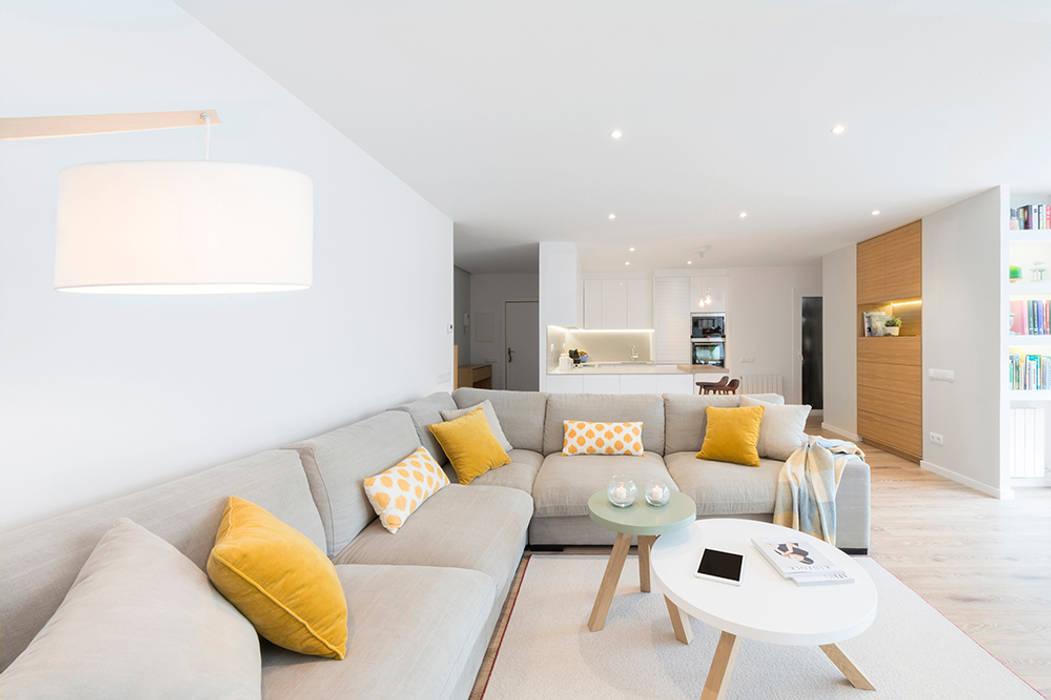 Living room by Beivide Studio, Scandinavian