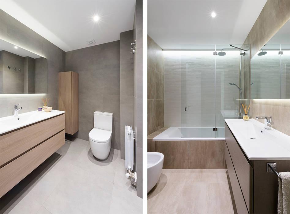 浴室 by Beivide Studio, 北歐風