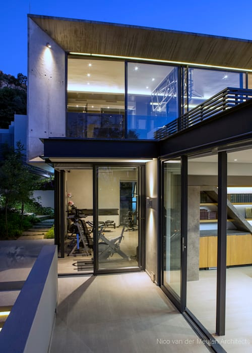 Concrete House Modern houses by Nico Van Der Meulen Architects Modern