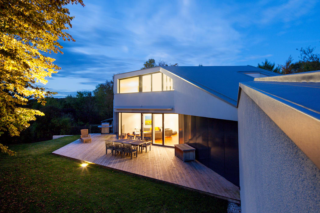 Terrazas de estilo  por WSM ARCHITEKTEN, Moderno