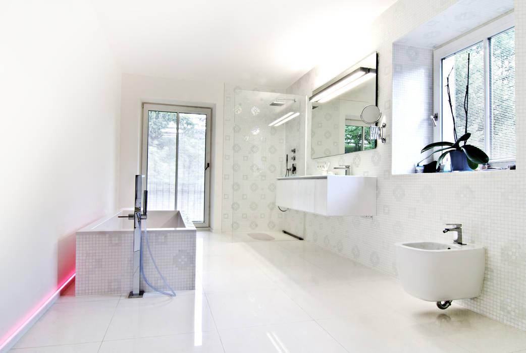 Casas de banho campestres por WSM ARCHITEKTEN Campestre