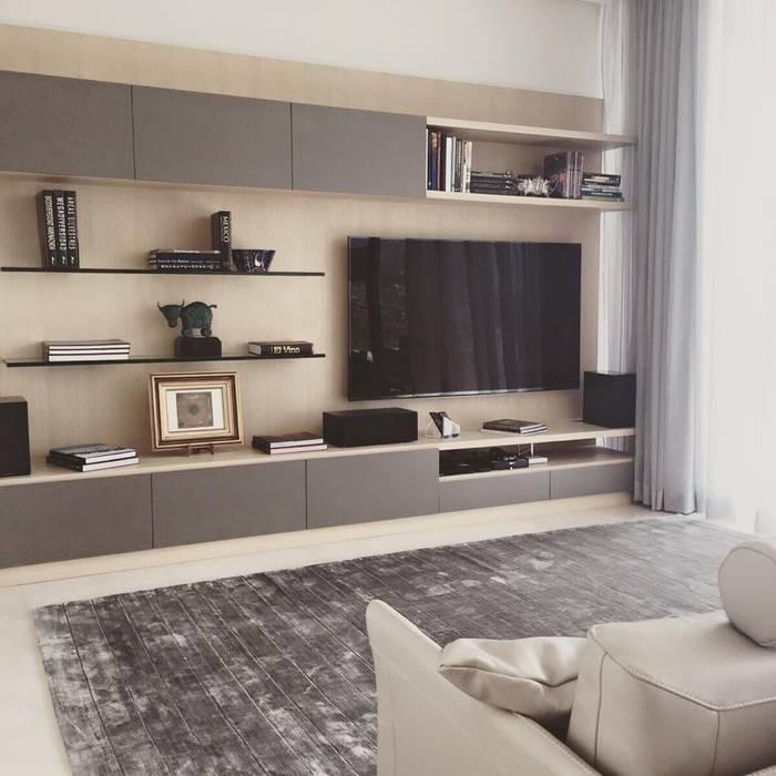 FLAM RUGS 现代客厅設計點子、靈感 & 圖片