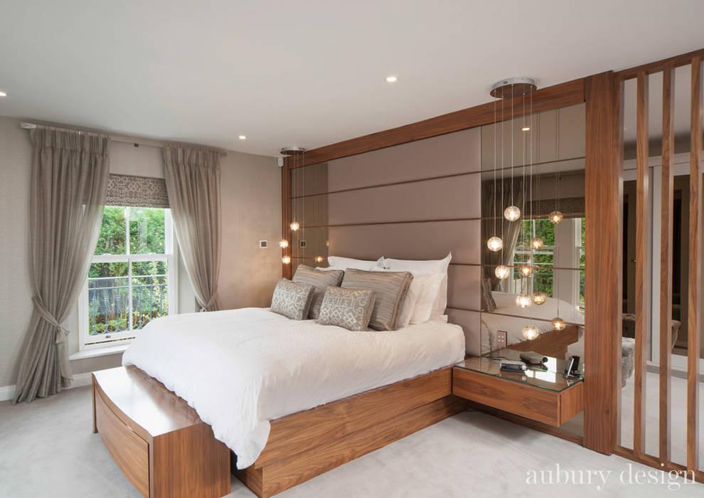 Schlafzimmer von Aubury Design, Modern