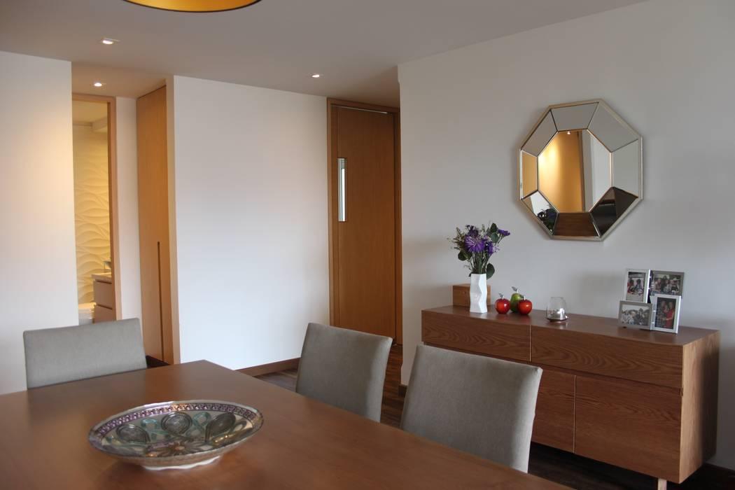 Sala: Salas de estilo moderno por Home Reface - Diseño Interior CDMX