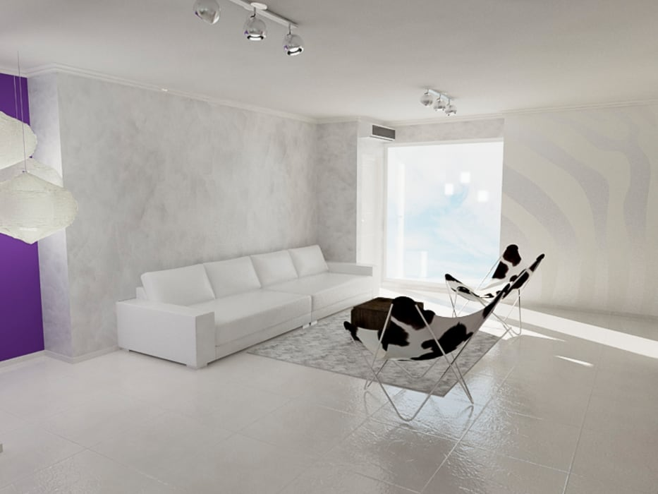 Salon moderne par Sixty9 3D Design Moderne