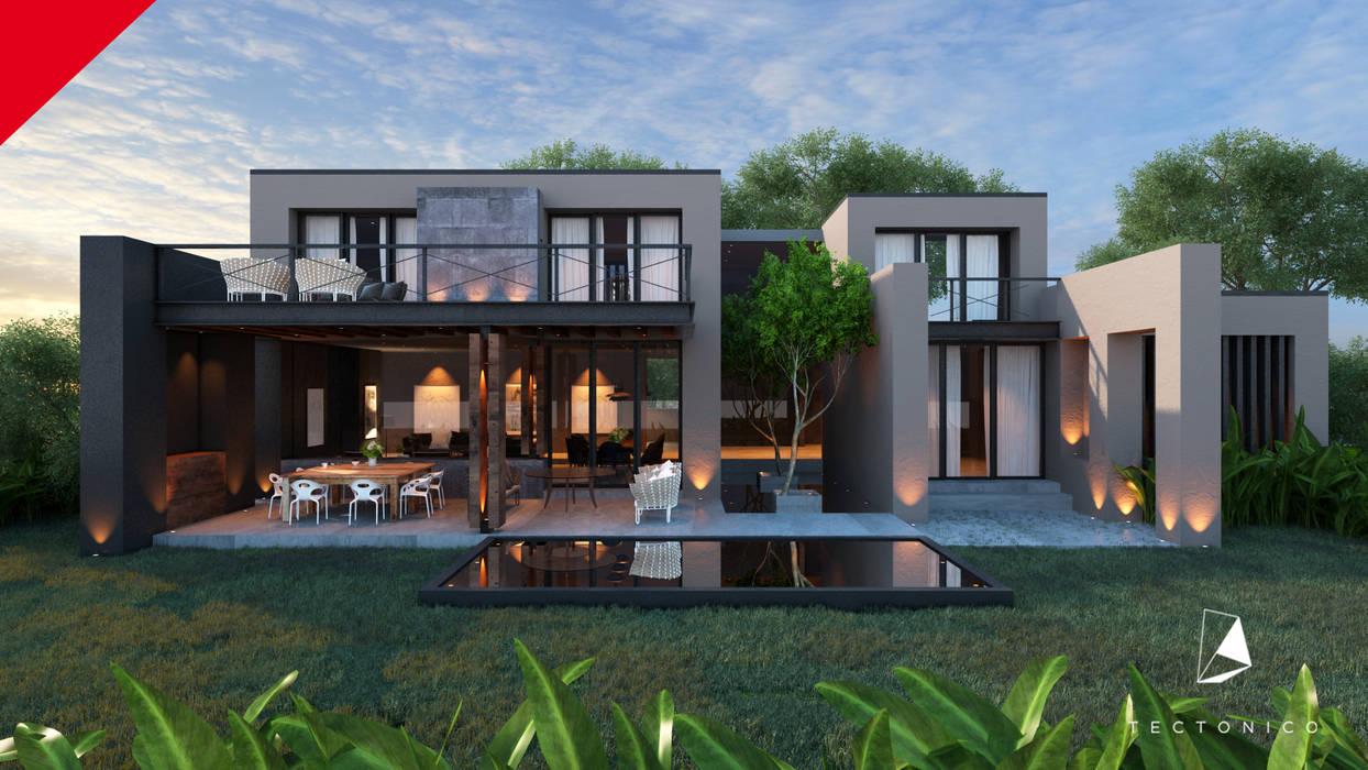 Casas modernas de Tectónico Moderno