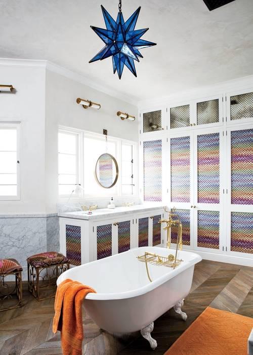 3.Star Centerpieces :  Bathroom by Meghraj Singh Beniwal,