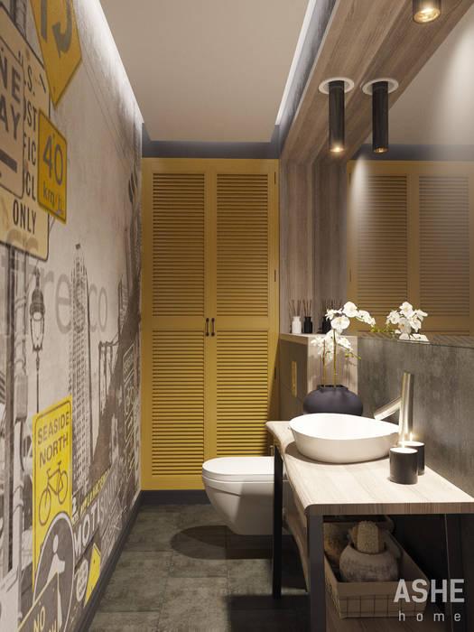 Квартира в ЖК Сосны Ванная комната в эклектичном стиле от Студия авторского дизайна ASHE Home Эклектичный