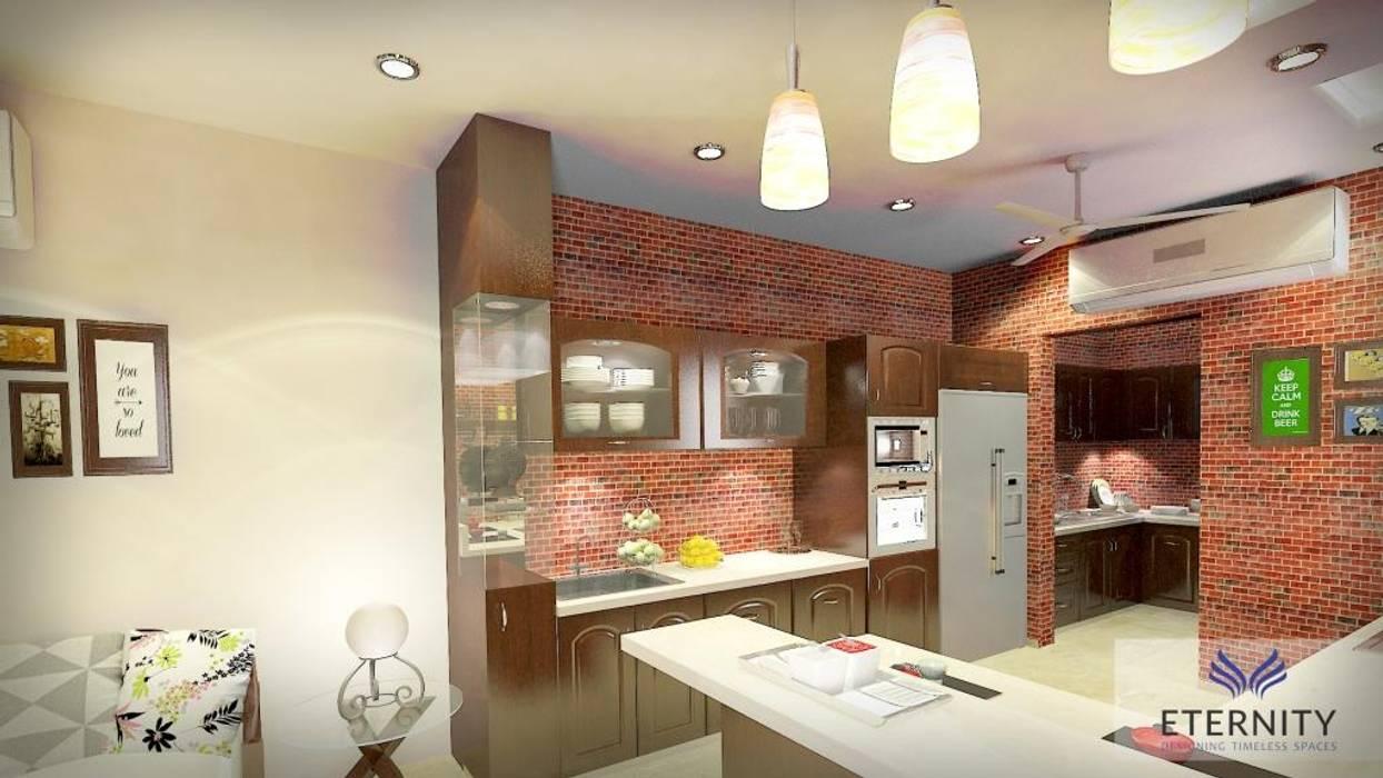 Interior design Cozinhas modernas por Eternity Designers Moderno