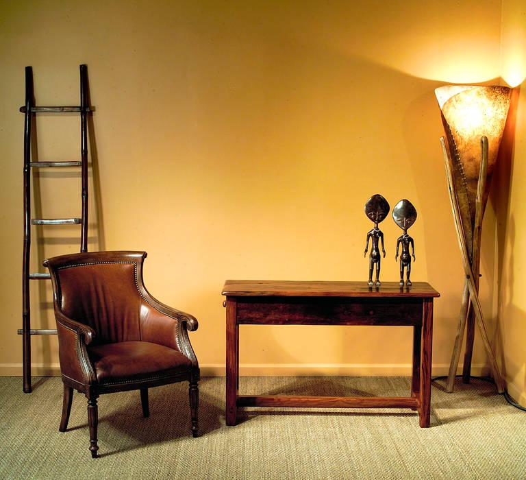 Wood Table par homify Moderne