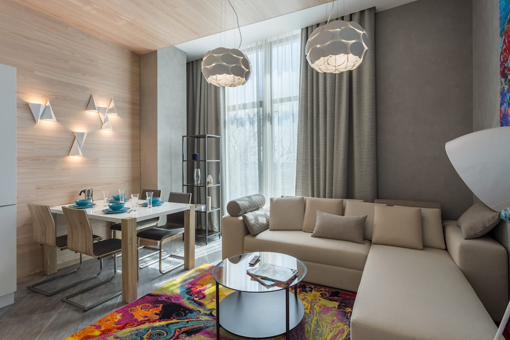 Bellarte interior studio Modern living room