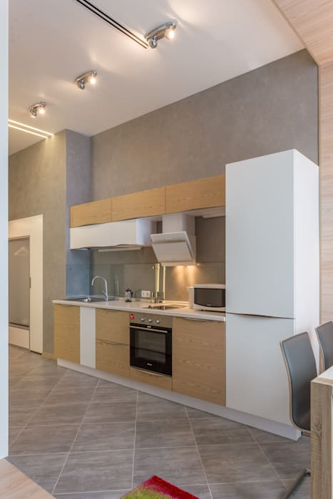Bellarte interior studio Modern kitchen