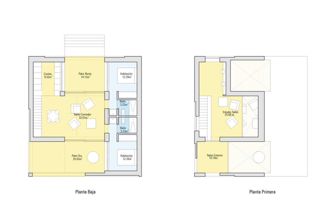 Plantas Casas modernas: Ideas, imágenes y decoración de MapOut Moderno
